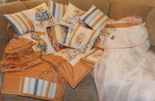 Комплект детского постельного белья в стандартную кроватку
